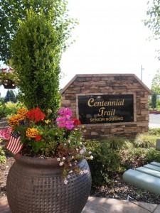 Centennial Trail sign